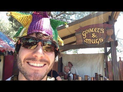 Overly Excited Tourist Survives Renaissance Faire