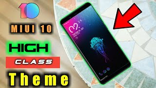 Best High Class Theme In MIUI 10 || All Xiaomi Phones ||Perfect Theme In MIUI 10