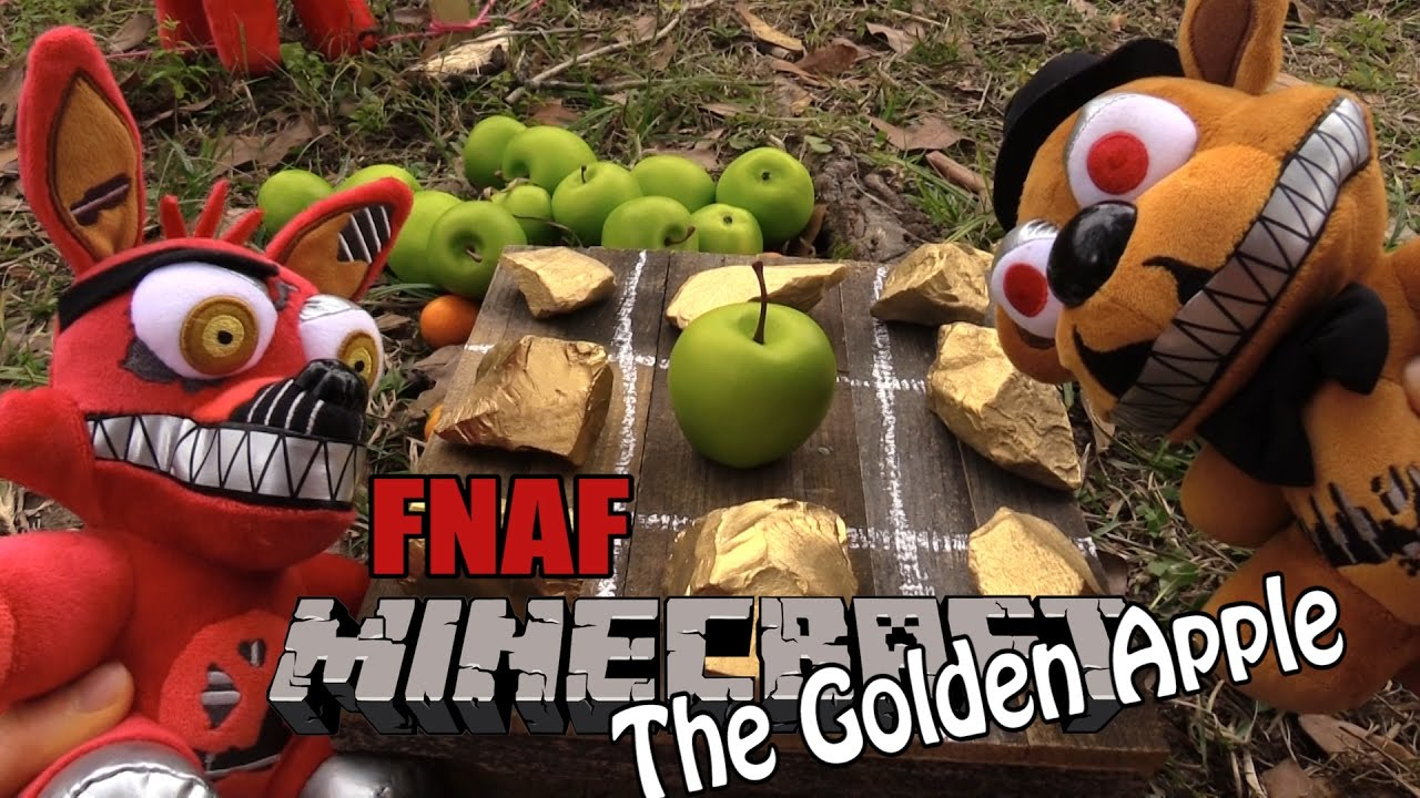 Download FNAF Minecraft plush 21-  The Golden Apple
