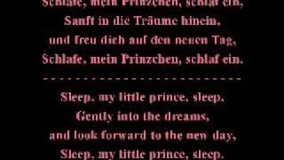 Schlafe mein Prinzchen, schlaf ein