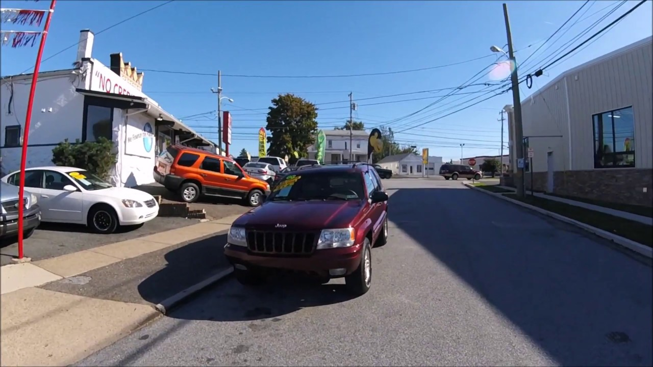 1999 jeep grand cherokee limited burgundy 4x4, sunroof and only