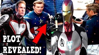Avengers Endgame PLOT REVEALED! AVENGERS 4 ENDGAME LEAKED FOOTAGE!