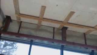 003 Потолок из гипсокартона (Деревянный фундамент металлокаркаса)(На нашем канале вы найдете еще много полезного видео Мы из г.Армавир Мы умеем: Установка дверей Укладка..., 2013-05-14T23:30:49.000Z)
