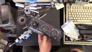 Tahoe / Yukon / GM truck (GMT800) Blower Switch  Troubleshooting & Repair