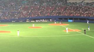 梶谷隆幸 2014年3月1日 オープン戦 中日×横浜DeNA