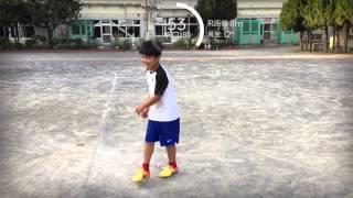大人より凄い小学6年生 116km シュート最高速度 u12 junior soccer adidas snapshot シュートスピード iphone 小学6年生 maximum speed