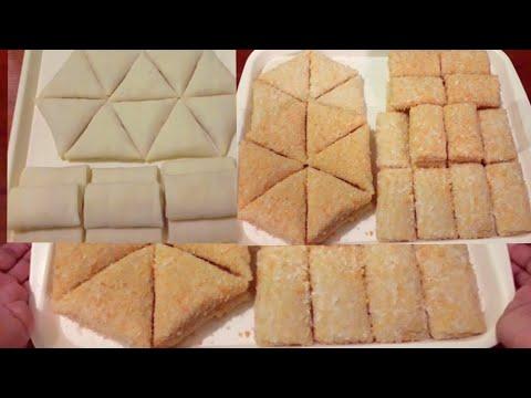 Melipat Risoles Segitiga & 4 | Rapat, Rapi, Simetris Sama Sisi | how to fold risoles