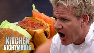 Chef Can't Cook A BURGER | Kitchen Nightmares