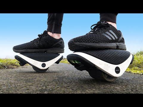 CRASH TEST : electric shoes