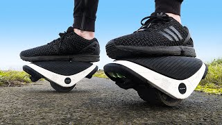 CRASH TEST : electric shoes