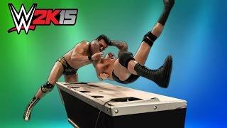 WWE 2K15 Top 10 Table Finishers (wwe 2k16 countdown)