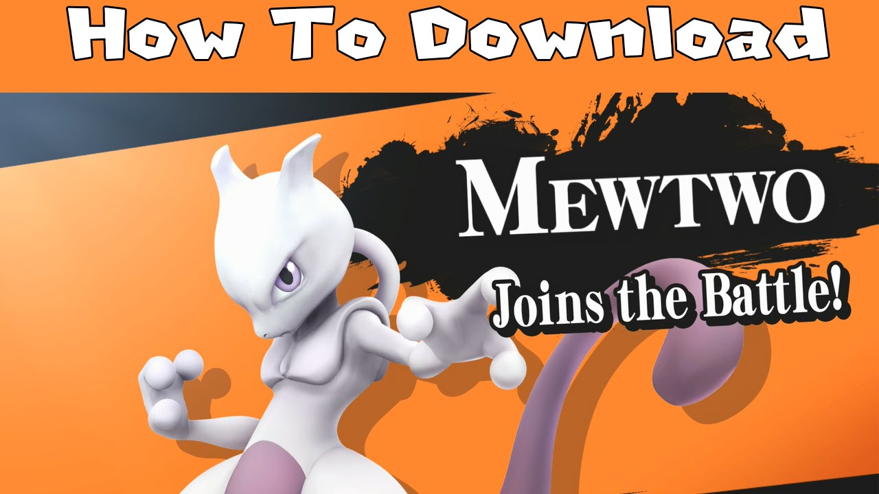 How to redeem your download code for nintendo wii u - How To Download Mewtwo In Super Smash Bros For Nintendo Wiiu Youtube