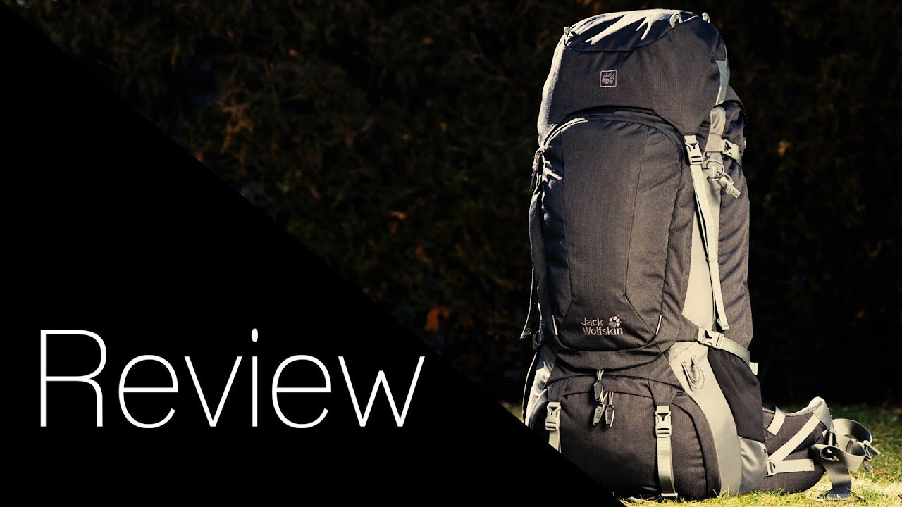 334fcc3a82 Jack Wolfskin Denali 65 Men Trekkingrucksack Review - YouTube