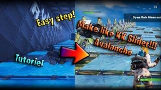 [Fortnite]Comment faire de l'Avalanche comme KK Curseur!!*Tutoriel*