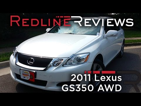 2011 Lexus GS350 AWD Review, Walkaround, Exhaust, & Test Drive