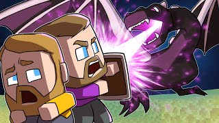 Slaying The Ender Dragon! | Minecraft