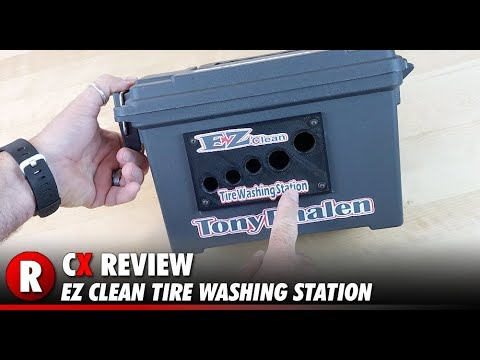 EZ Clean Tire Washing Station | CompetitionX