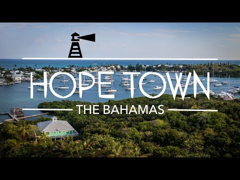 On Top of the World and an Approaching Storm - Exploring Hope Town - Abaco Bahamas