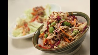 Thai Crunchy Salad with Peanut Dressing | Thai Recipes | Sanjeev Kapoor Khazana