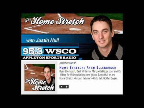 Ryan Ellerbusch INTERVIEW on The Home Stretch with...
