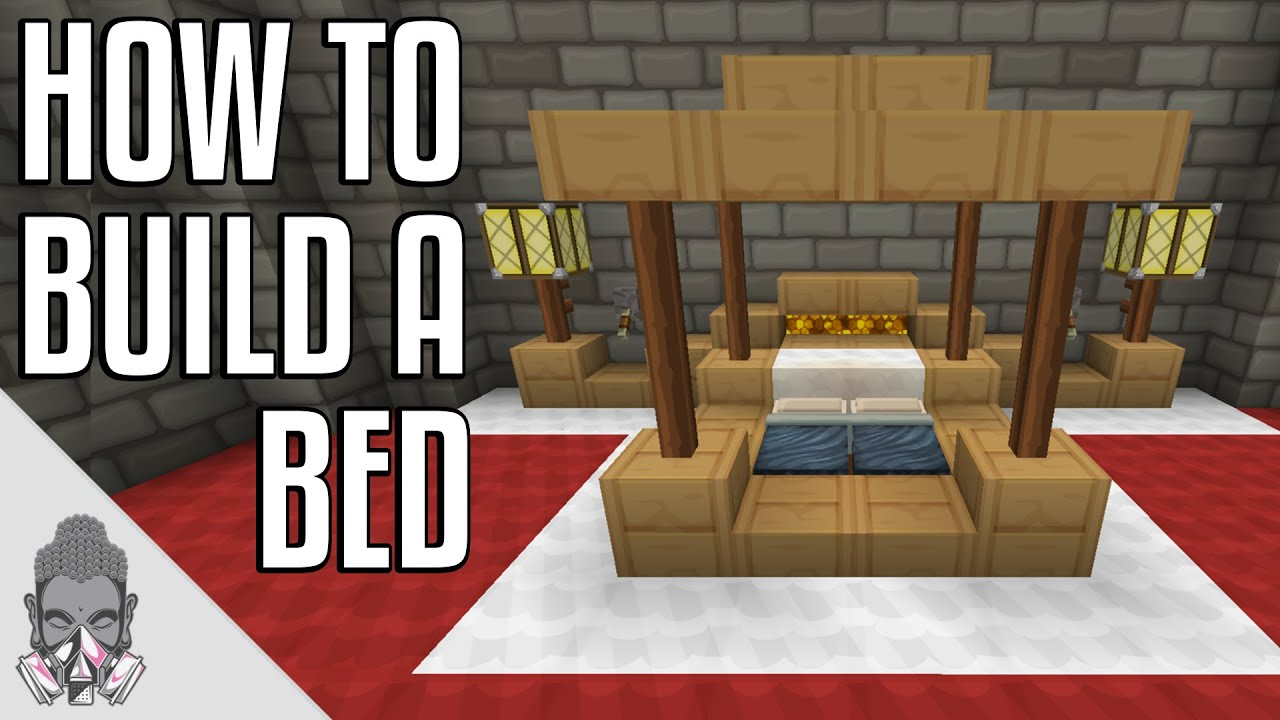 How To Build A Bed Minecraft Youtube