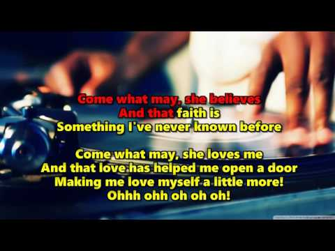 Come What May (HD Karaoke) - Air Supply (1 key Lower)