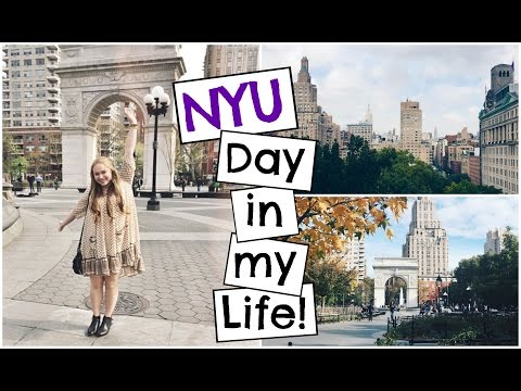 A Day in the Life of an NYU Student | GoPro HERO 4 Silver