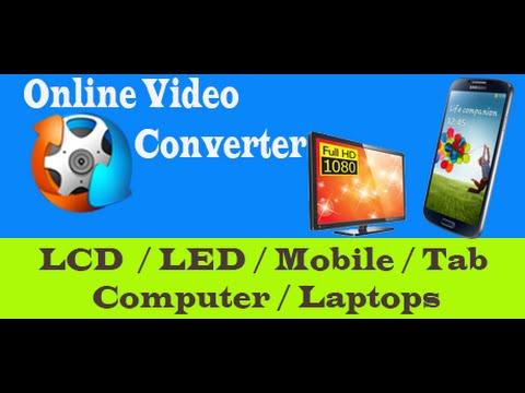 Online Video Convert for LCD, LED TV ( USB )