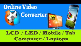 Online Video Convert for LCD, LED TV ( USB )
