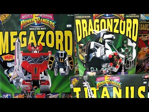 1993 Megazord, Dragonzord and Titanus!