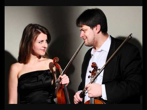 Natalia Lomeiko and Yuri Zhislin perform Prokofiev Sonata for two violins live from the Wigmore Hall