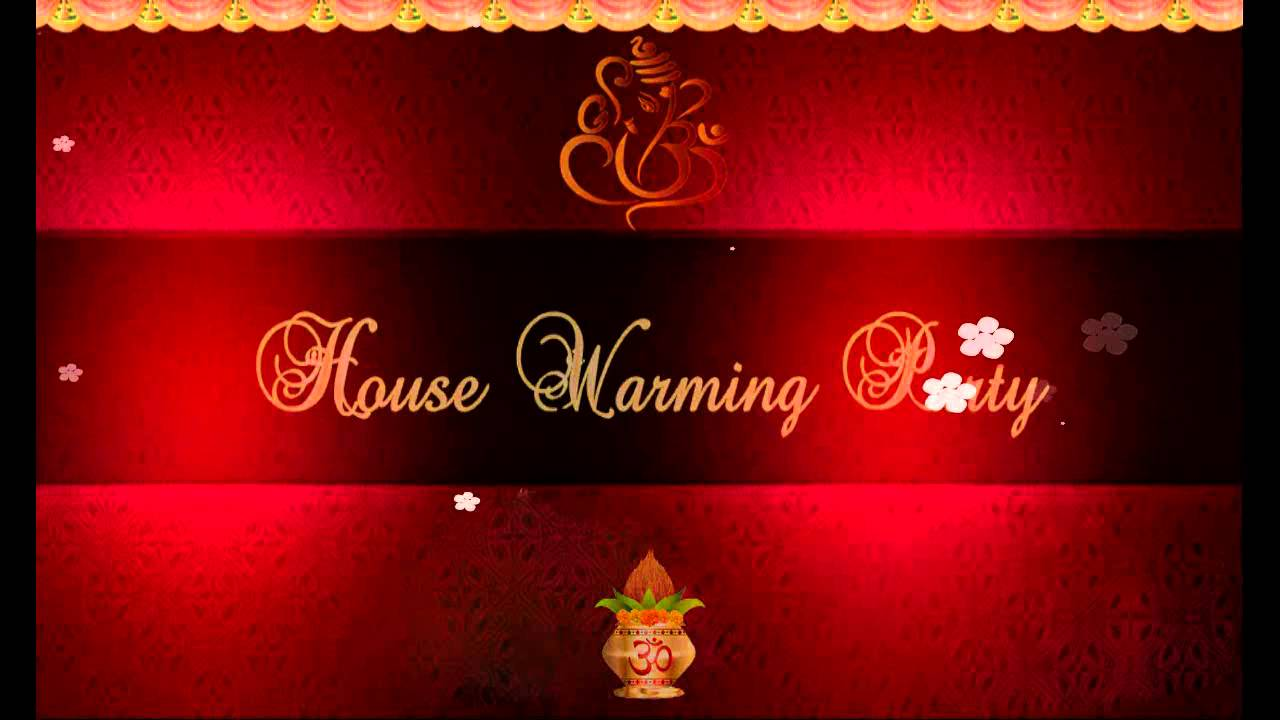 WHATS APP house warming invitation sample - YouTube