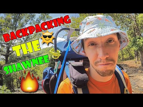 Backpacking the Shawnee, Part 1