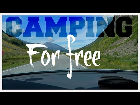CAMPING FOR FREE !!! IN NORWAY  | twoplustwocrew