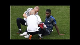 Samuel Umtiti injury scare: Is France defender fit for World Cup final?