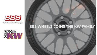 With 50 years of BBS of innovation and success in Motorsports, BBS Wheels is excited to announce that we have joined the KW family of brands.  The KW family of brands include KW suspensions, ST suspensions, Belltech, Reiger suspension, Track Time, Race Ro
