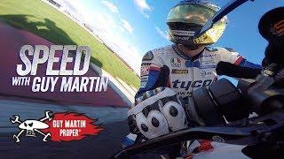 F1 CAR VS BIKE - Guy's FULL POV   Guy Martin Proper Exclusive