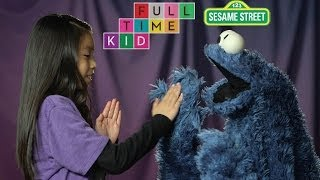 Pat-a-Cookie with Cookie Monster | Full-Time Kid | PBS Parents