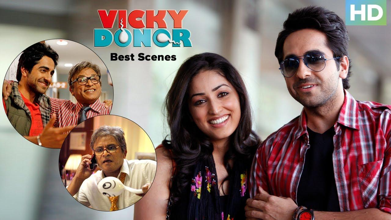 Best Scenes Vicky Donor | Ayushmann Khurrana, Yami Gautam & John Abraham | Bollywood Superhit Movie