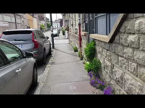 Rennes 8 Mai 2020 : Ballade Du Boulevard Paul Painlevé à La Barre Saint-Just...