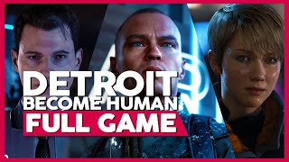 Detroit: Become Human | PS4 Pro | Full Gameplay/Playthrough | No Commentary