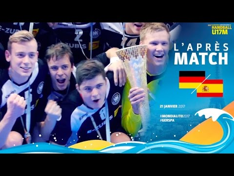 Final Mondialito Germany - Spain | Saturday, 21 January