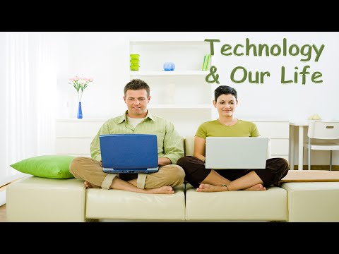 technology in our life Technology is an absolute need we cannot escape from let's just say, it has a very big role in most aspects of our lives in other words, it answers most of mankind.