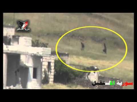 Syrian Army soldiers hunt down al-Nusra Front terrorists near Jisr Al-Shoghour, Idleb
