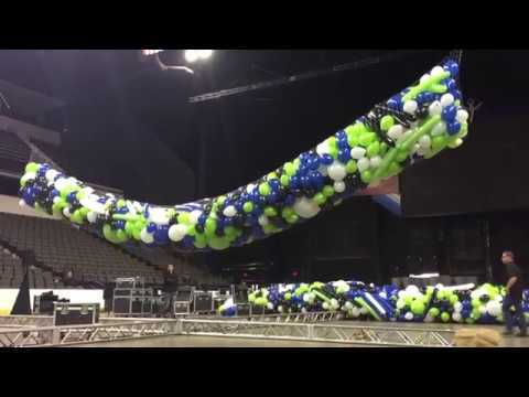 Rigging A Balloon Drop Balloons By Tommy Youtube