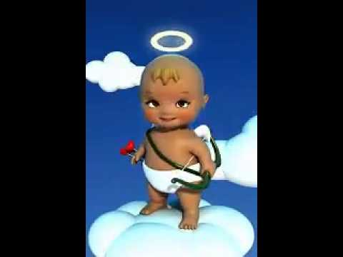 Angelito tierno tipo wasaap :3