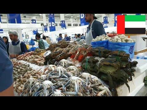 DUBAI FISH MARKET | मे कौन कौन सी फिश मिळती है | Ft. Anees Mukadam #Dubaifishmarket