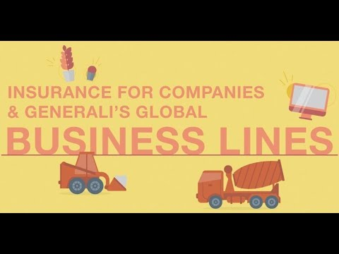 Insurance for companies and Global Business Lines