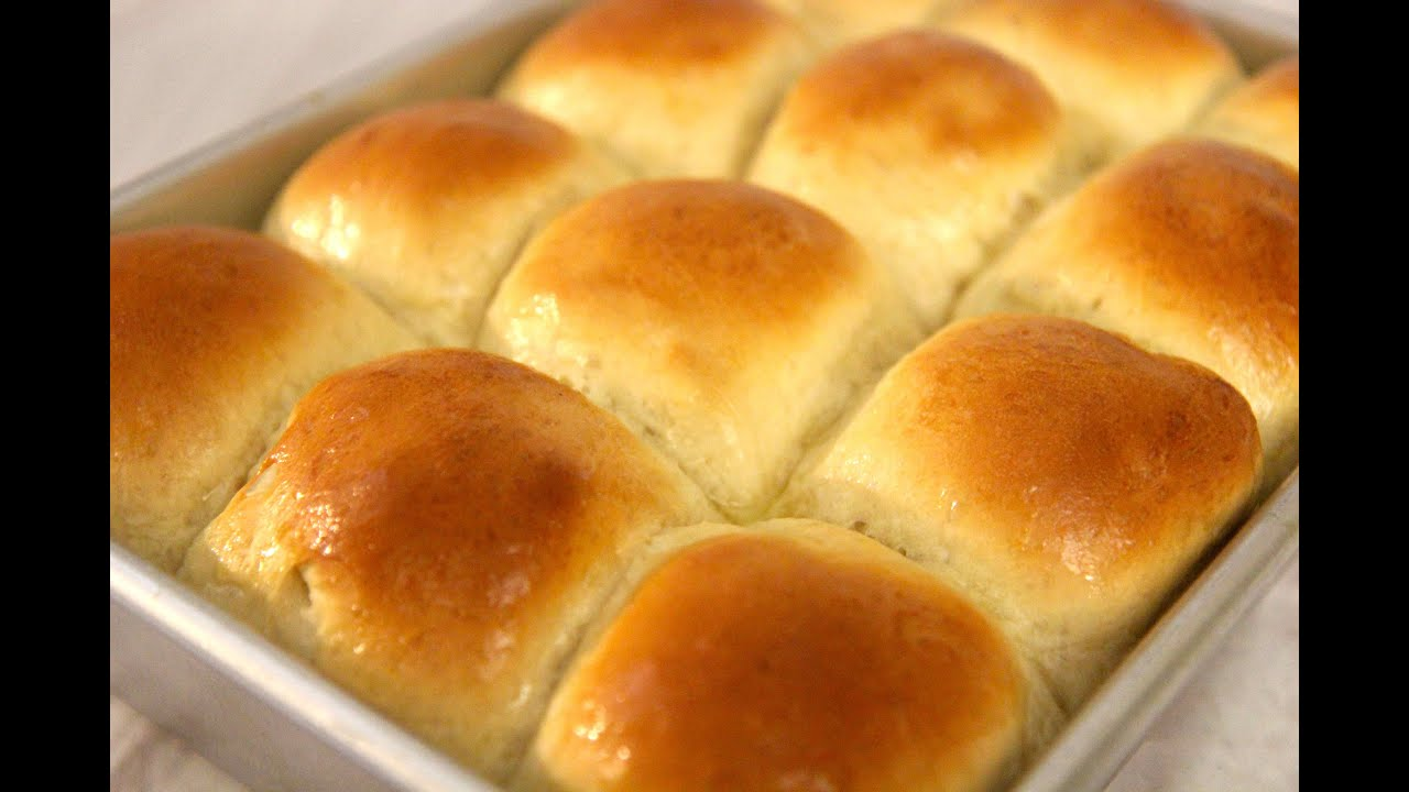 Homemade Dinner Rolls - Cooked by Julie episode 247 - YouTube