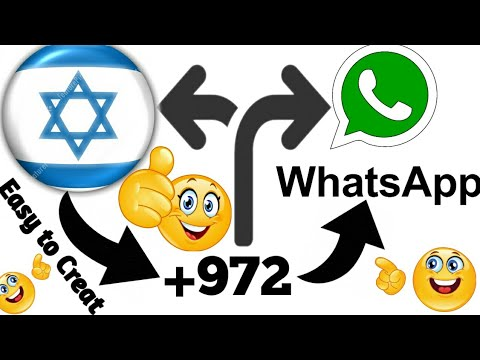 How To Get Israel(+972),Many Country Numbers And Using In WhatsApp | In Android | In Urdu\u0026Hindi